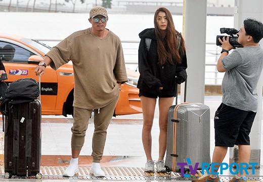 추성훈-정다래 '설레는 정글 출국길'