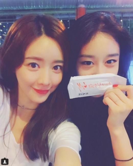"""""""인형 미모"""" 홍수아X지연,예쁜이들의 만남"""