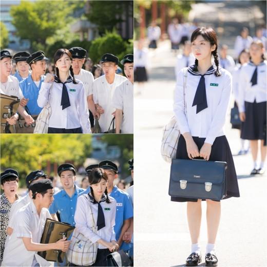 '란제리 소녀시대' 채서진, 도도美 여고생 변신_이미지