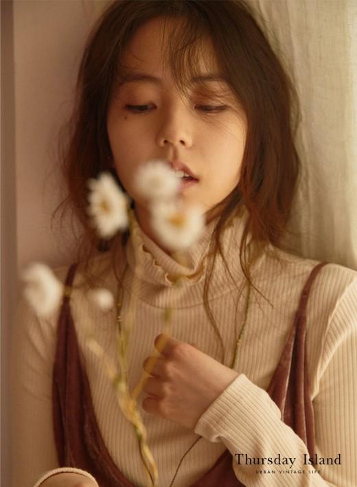 안소희, 진짜 가을 여신