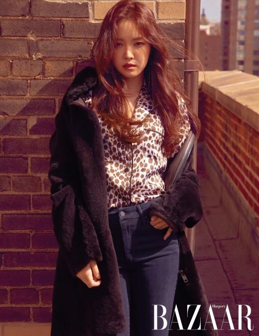 """""""이 구역, 패셔니스타"""" 손나은, 뉴욕 홀린 가을 여신 _이미지"""