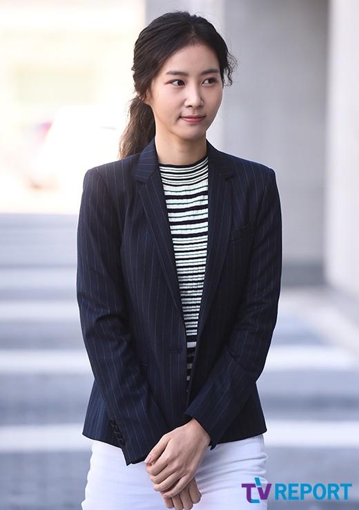 김정민 '밝아진 얼굴로~'