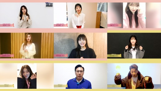 """""""김소희 데뷔 축하""""…I.O.I-'음신2'-'아드공' 열혈 응원_이미지"""