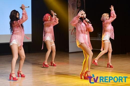 레이샤 '핑크 시스루로 러블리하게'