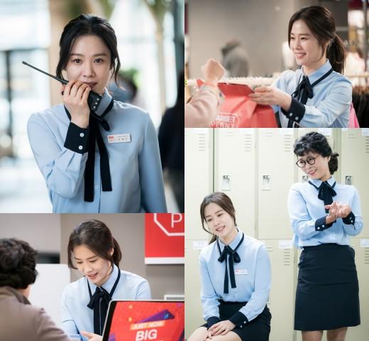 '우리가 만난 기적' 김현주, 성실한 똑순이…미모 열일 중