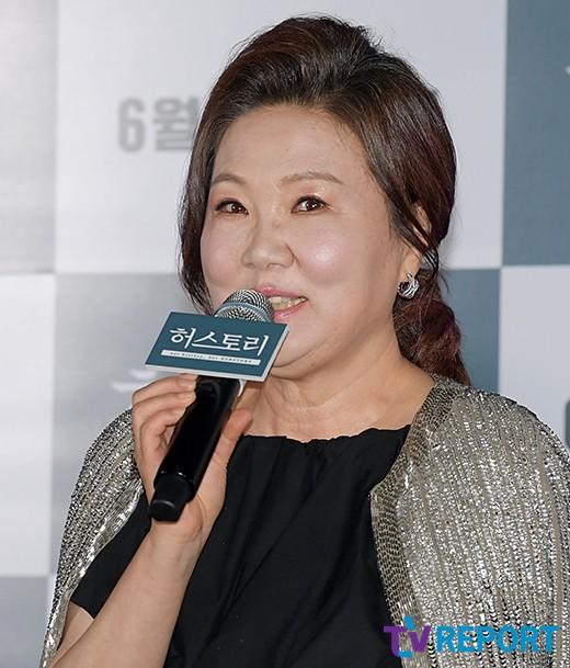 """'허스토리' 김해숙 """"위안부 할머니役..모두 비우고 연기"""""""
