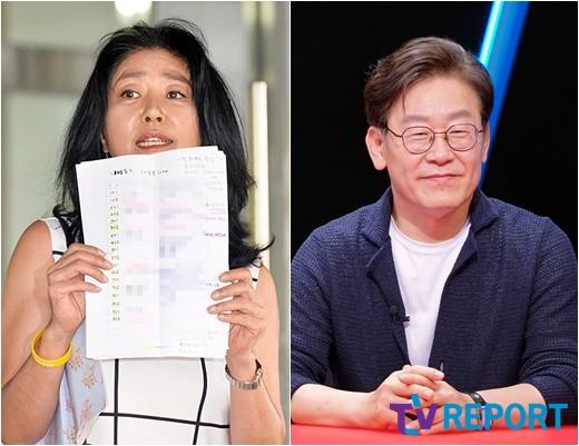 """""""엄마,그를 용서하세요""""…김부선·이재명 불륜설→이미소의 호소_이미지"""