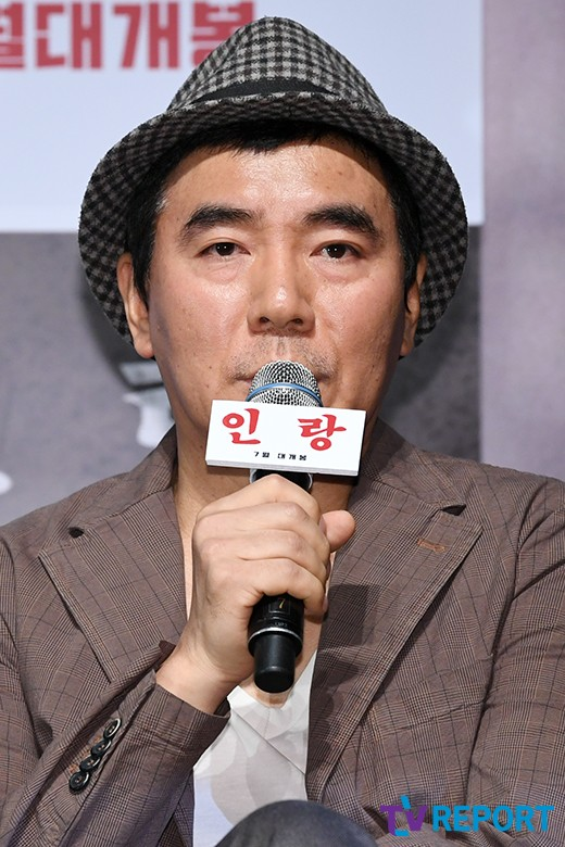 """'인랑' 김지운 감독 """"日애니 전설 영화화..무모함 그 자체"""""""