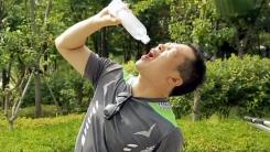 """목 마른데 물은 찔끔,  """"아~ ○○난다!"""""""