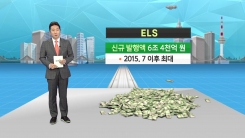 [재테크 쏙쏙] 주가연계증권 ELS시장 다시 '훈풍'