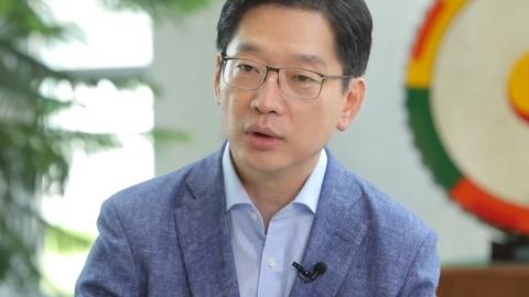 """김경수, 직접 밝힌 군 면제 사유 """"공장 활동 중 다쳐"""""""