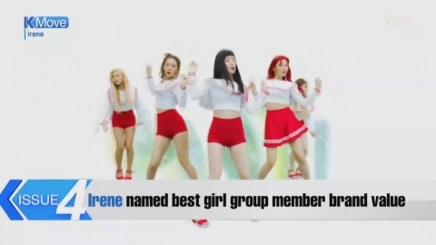 Irene named best girl group member brand value