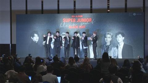 데뷔 12주년, 6인조로 컴백한 슈퍼주니어!