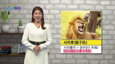 부처의 설법에서 유래된 사자후(獅子吼)