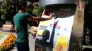 빈 병 넣으면 사료 주는 착한 자판기