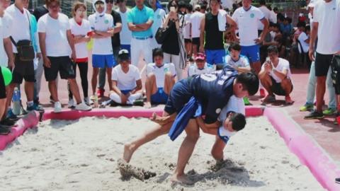 으라차차 씨름 한판!…필리핀 동포 체육대회
