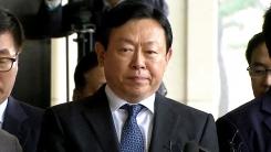'뇌물 의혹' 신동빈 롯데 회장 검찰 출석