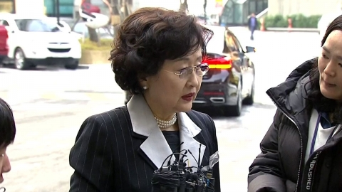 '과학계 블랙리스트' 의혹…김명자 회장 참고인 출석