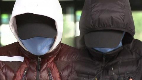 급유선 선장·갑판원 오늘 영장 심사…법원 이동