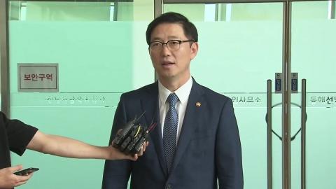 천해성 차관, 이산상봉 개보수 현장 점검 방북