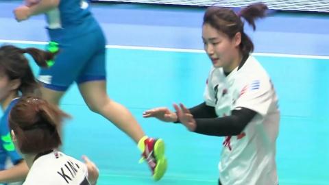 [빅매치하이라이트] 대한민국 핸드볼, 아시아선수권대회 고공행진