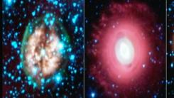 NASA, 핼러윈 앞두고 '유령 별' 사진 공개