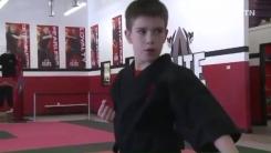 '태권도'로 자폐증 이겨낸 美 11세 소년