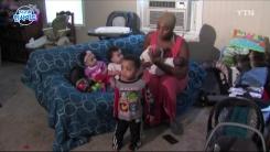 2년 동안 쌍둥이 세 번 출산한 여성