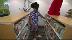"""""""흑인 소녀 주인공 책 찾아요""""…11살 흑인 소녀의 독서 캠페인"""