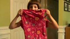 자폐 소녀의 '애착 티셔츠'에 쏟아진 온정