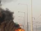 [사고현장]인천국제공항고속도로 차량화재