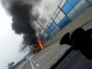 [사고현장]고속도로 트럭 화재