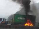 [사고현장]경부고속상행선차량 화재