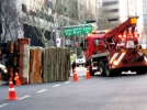 [사고현장]1.5톤 트럭 전복 사고