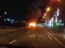 [사고현장]송내 남부역 택시 화재