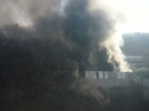 [사고현장]경기 광주 야산 창고 화재