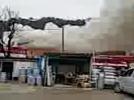 [사고현장]밀양역 대한통운 창고 화재