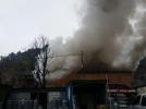 밀양역 대한통운 창고 화재