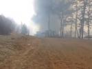 세곡동 화훼 단지 화재 현장