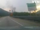 [사고현장]대구포항간 고속도로 차랑화재