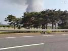 [사고현장]고촌 의류창고 화재