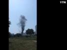 [사고현장]성남시 상록마을서 화재 발생