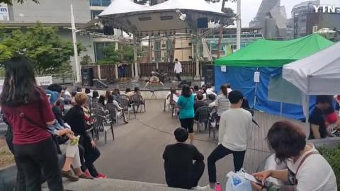 [일상] 대학생 MJ_이대 앞 길거리 공연