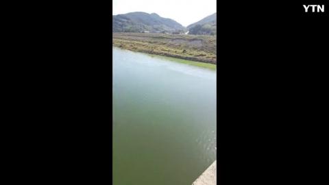 '갑자기 끊어진 다리' 9m 아래 호수로 추락