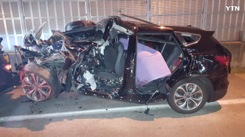 중부고속도로 7중추돌사고 2명사망