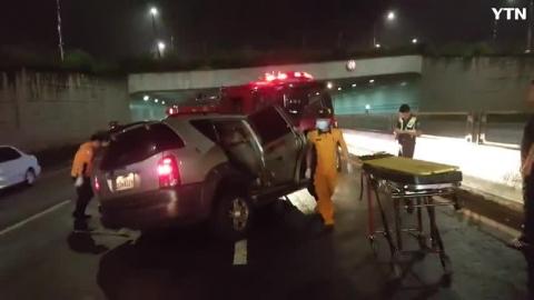제이자유로 차량전복사고