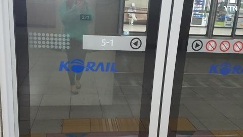 평촌역 지하철 문 끼임 사고