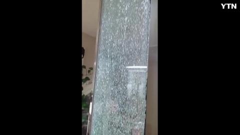 [기타] 실내강화유리벽파열