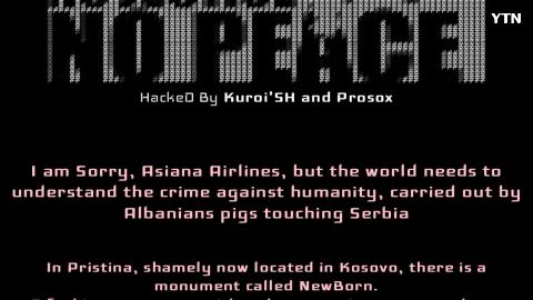 [기타] 아시아나항공 홈페이지 테러공격