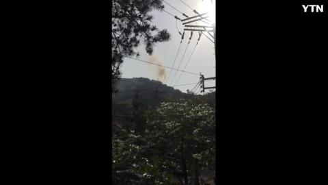 [사고현장] 인왕산 화재
